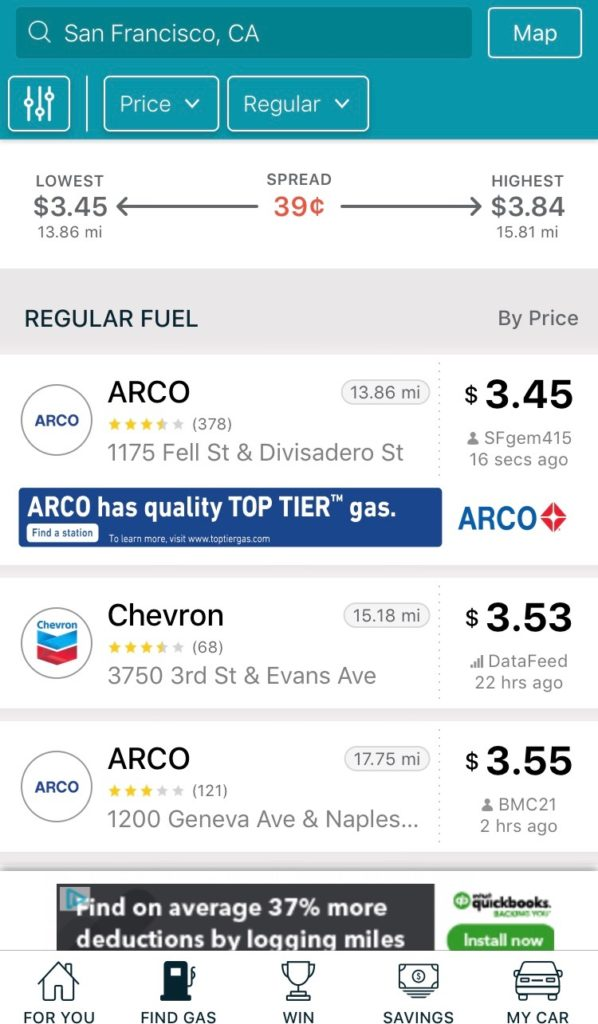 Nearest Cheapest Gas Station >> Traveling Made Easy With These Apps Haro Insurance Services
